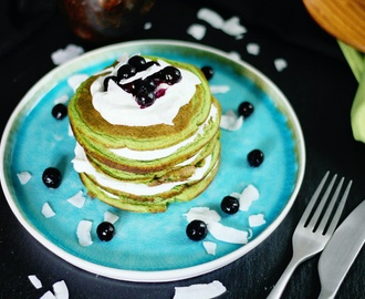 RECEPT: spinach protein pancakes