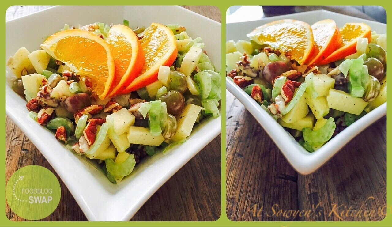 Waldorf salade - Foodblogswap april 2015