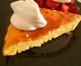 Lemon and Corn Cake