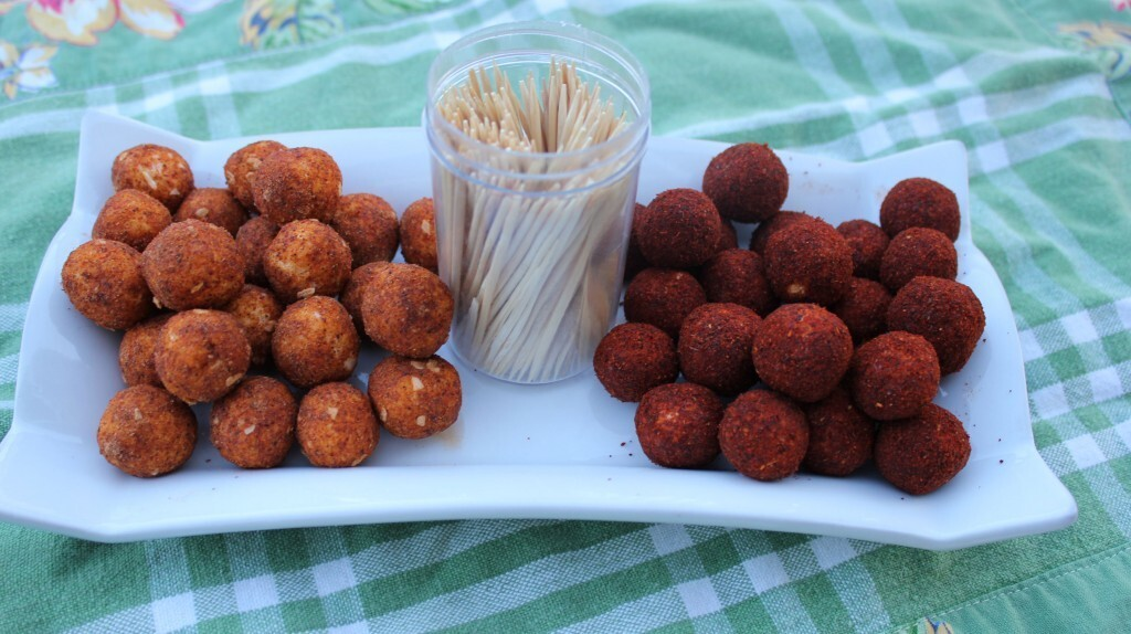 Mini Chili Cheese Balls