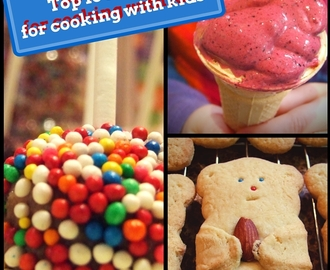 Top 10 school holiday recipes for cooking with kids