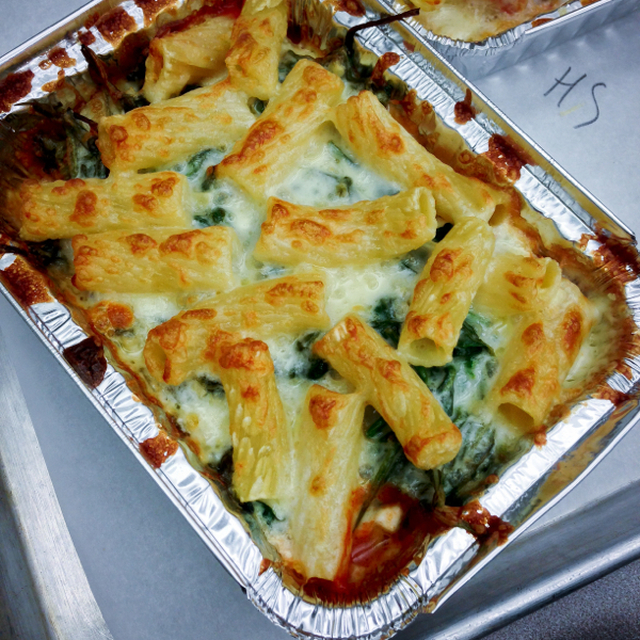 Les Petits Chefs cook Stefano Faita's Spinach and Ricotta Lazy Lasagna