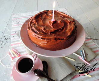 Tarta de chocolate – 1º Cumple Blog
