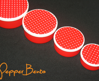 Red Polka Dot Round Bento Lunch Box Set Review!