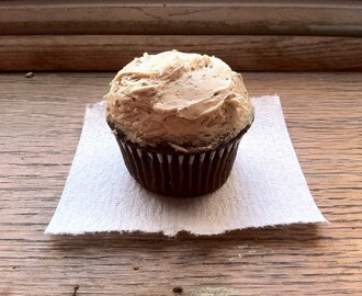 Chocolate Cupcakes with Mocha Buttercream Frosting