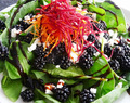 Blackberry Goat Cheese Salad