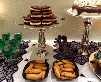 Halloween Sweet Table - (Marzipan-)Fettfinger