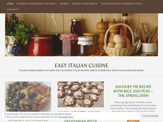 easy italian cuisine | cooking makes you happy!