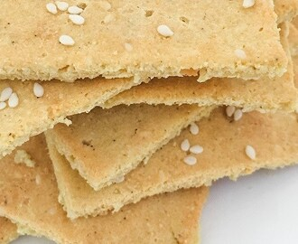 RECEPT | LOW CARB SESAM CRACKERS