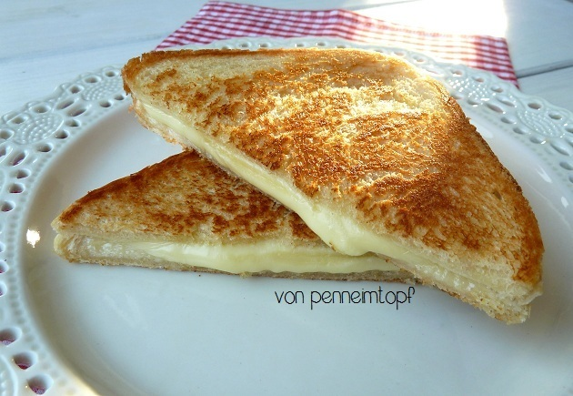 Das Perfekte Grilled Cheese Sandwich
