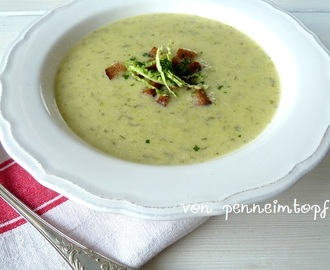 Cremige Wirsing – Parmesan – Suppe