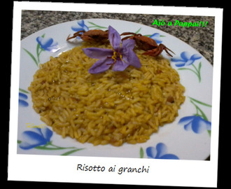 Risotto ai granchi / Risotto with crabs