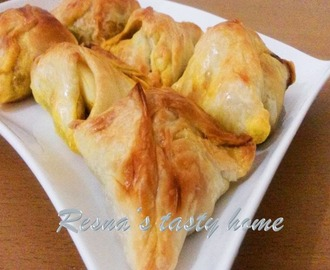 Kerala egg puffs (prepared without frozen pastry sheet)