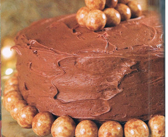 Chocolate Malt Cake