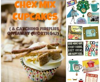 Margarita Party Mix, Chex Mix Cupcakes, Cupcake Roulette, and Catching Firefly Giveaway {worth $43!}