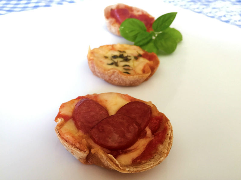 Mini Pizza de Rap10