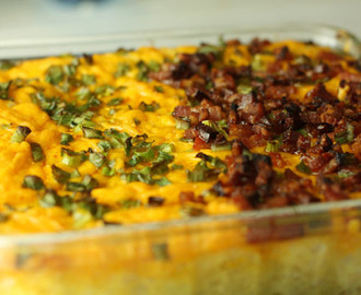 Baked Mashed Potato Dip