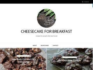 www.cheesecakeforbreakfast.co