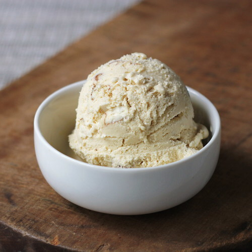 Brown Sugar Buttermilk Pecan Ice Cream