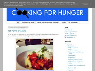 Cooking For Hunger