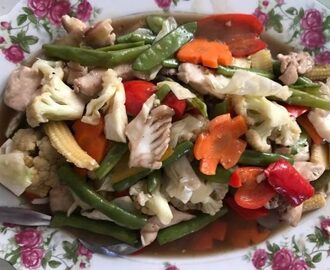 Pork Chopsuey Recipe