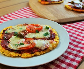 Gluten Free Polenta Mini Pizzas Recipe