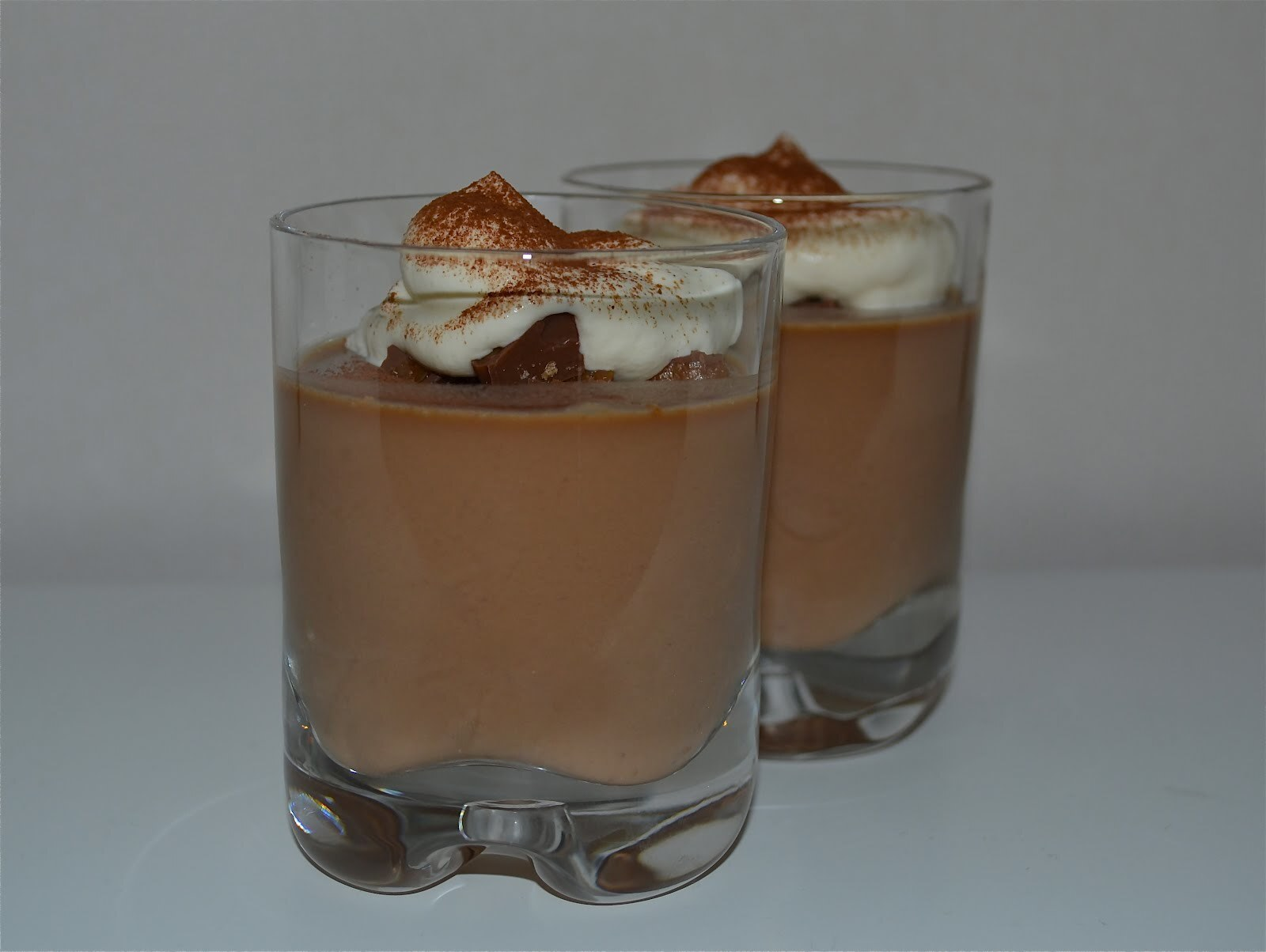Pannacotta med daimcrunch