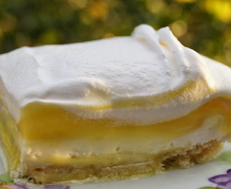Lemon Cream Cheese Dessert