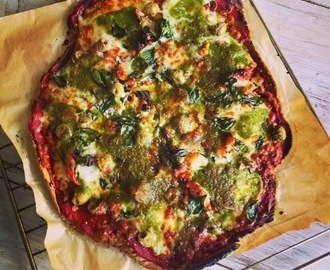 Recept - Healthy oats pizza