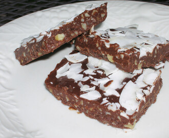Nutty German Chocolate Coconut Candy, DF,  #glutenfree