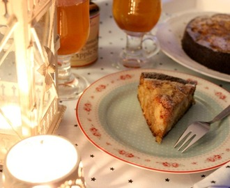 Apple Cinnamon Cake & Punsch