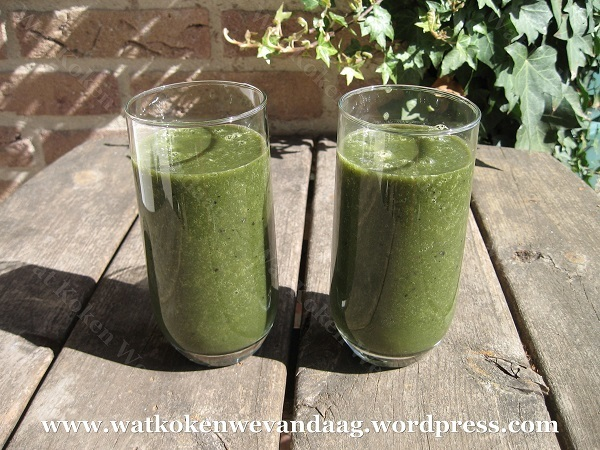 Recept: Superfood smoothie Nr.1