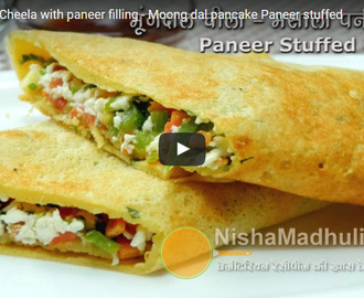Moong Dal Pancake Recipe Video