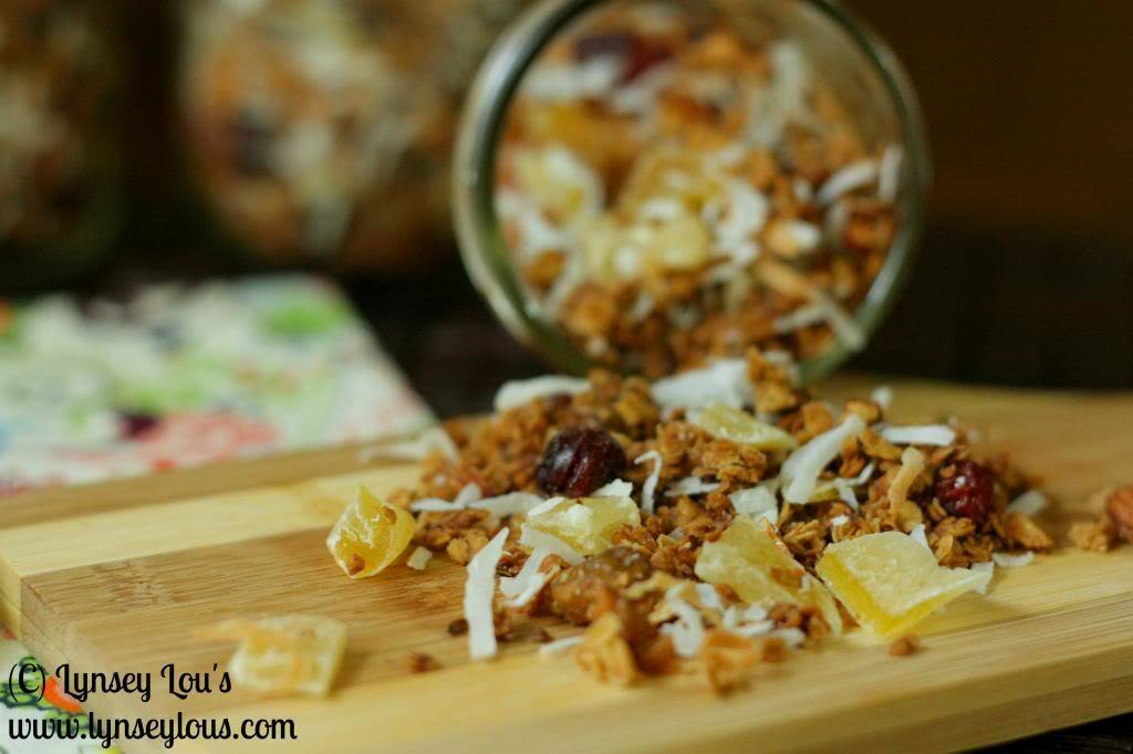 Easy (and Healthy) Tropical Granola