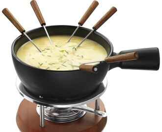 Traditionele kaasfondue met een twist