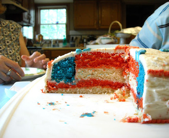 Guest Post: 4th of July Cake