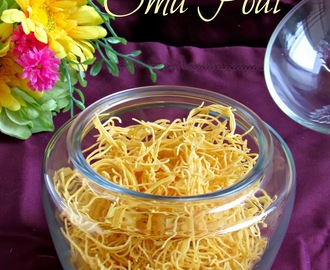 Oma podi / ஓமப் பொடி / Sev /  Easy Diwali recipes - Step by step