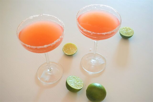 Cocktail: Rabarber Daiquiri