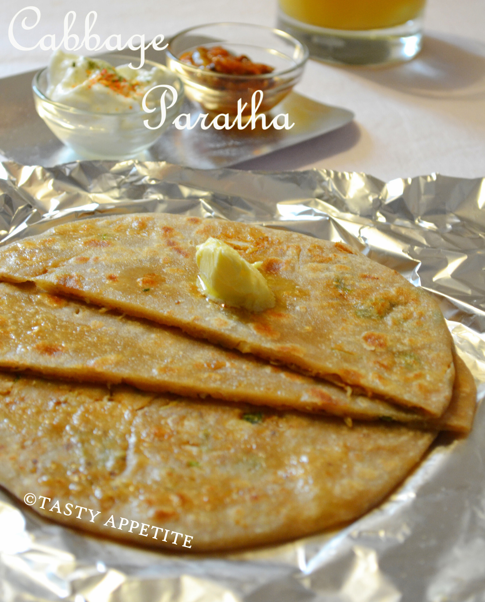 How to make Cabbage Paratha / Healthy Paratha Recipes: