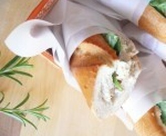"""Herbaceous"" Chicken Salad Sandwiches"