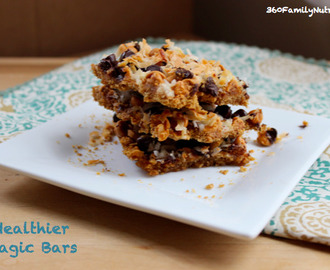 Healthier Magic Bars
