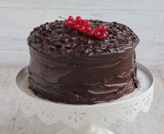 Devil's food cake...my birthday cake!