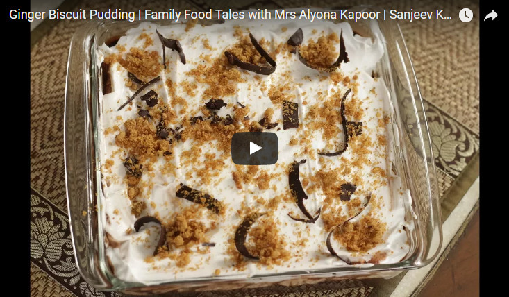 Ginger Biscuit Pudding Recipe Video