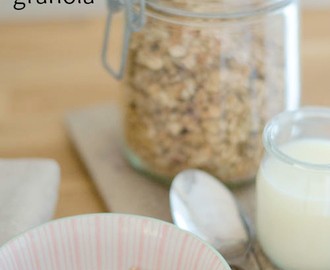 Winter granola recipe and other easy, healthy breakfast ideas.