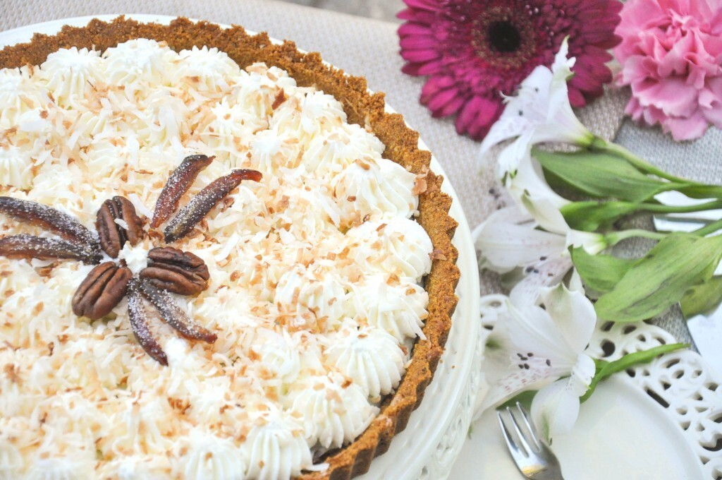 Coconut & Date Cream Pie