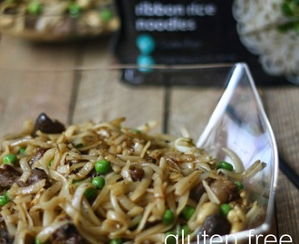Gluten Free Palm Sugared Cashew Beef Wok Noodles & a Happy Chinese New Year from Amoy