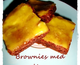 Brownies med citron
