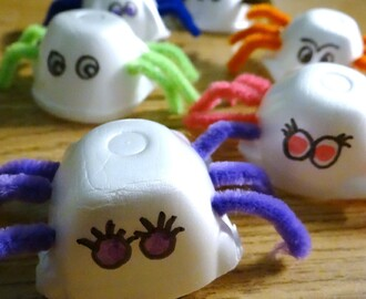 3 Egg Carton Critter Crafts #DIY