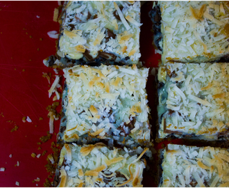 Coconut Overload Magic Bars