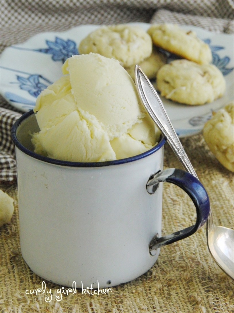 Sweet Corn and Coconut Milk Ice Cream